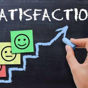 سبک یکپارچگی رضایت مشتری از کارکنان بانک