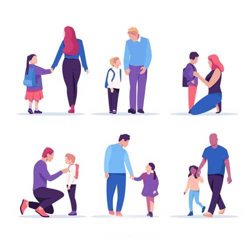ادراک کودک از والدین