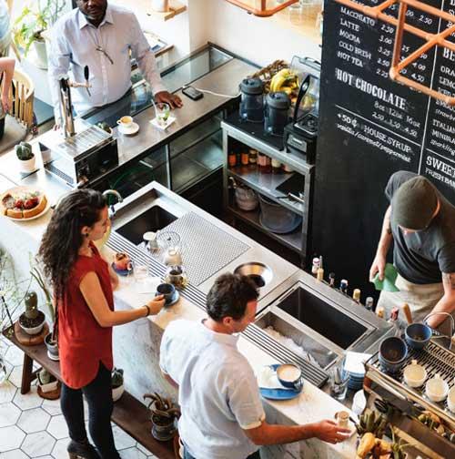 رضایت مشتریان رستوران